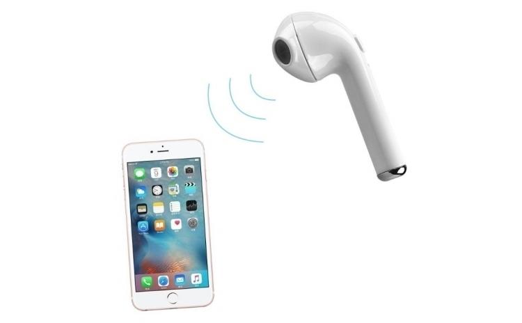 Set 2 casti i7 TWS Twins cu Bluetooth