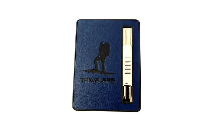 Tabachera cu bricheta, Albastru, B0202