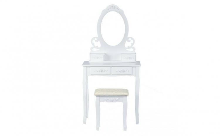 Masa de Toaleta pentru Machiaj cu Scaun