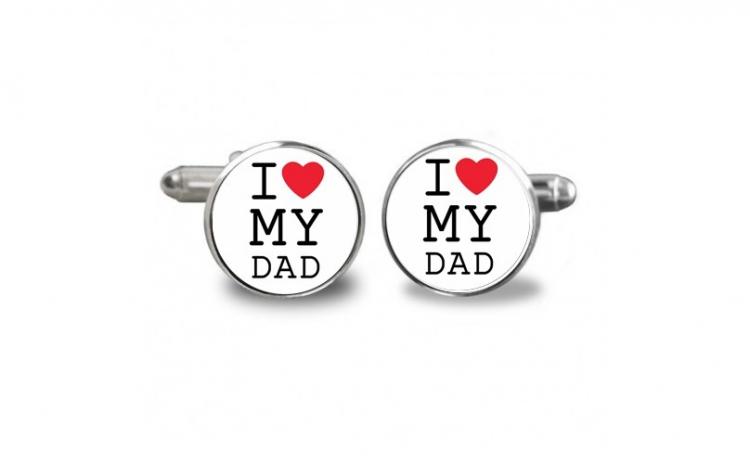 Butoni de camasa love Dad