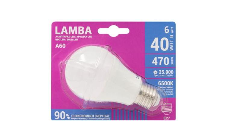 Bec LED E27 6W (A60) JstJ - Lumina rece