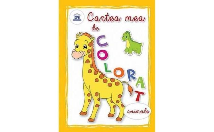 Cartea mea de colorat - Animale