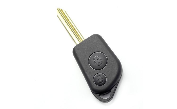 Citroen / Peugeot - Carcasa cheie cu 2