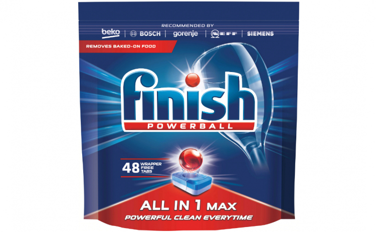 Finish All in One Max, 48 tabs