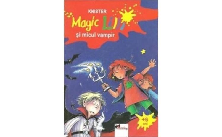 Magic Lilli si micul vampir, autor