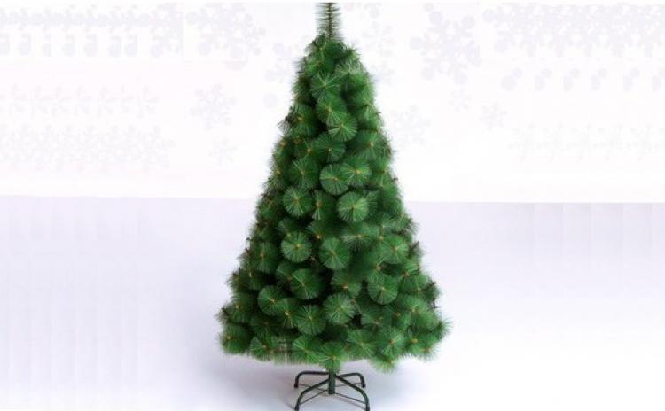 Brad artificial, model pin verde- 2.10m