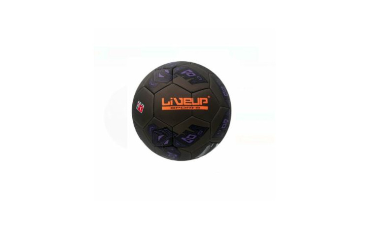 Minge fotball black orange 22,5 cm