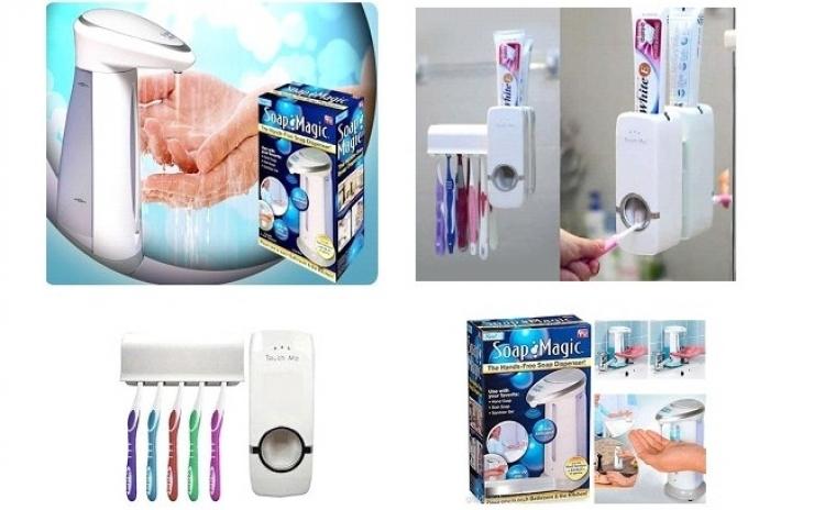 Dozator sapun pe senzori + Dozator pasta