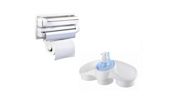 Dispenser triplu + dispenser detergent