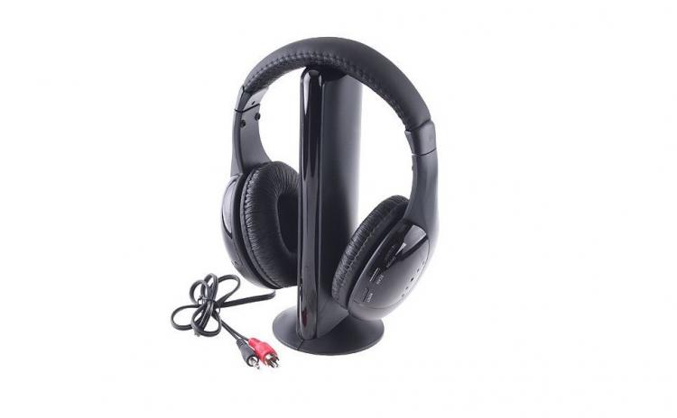 Casti wireless multifunctionale - 5 in 1