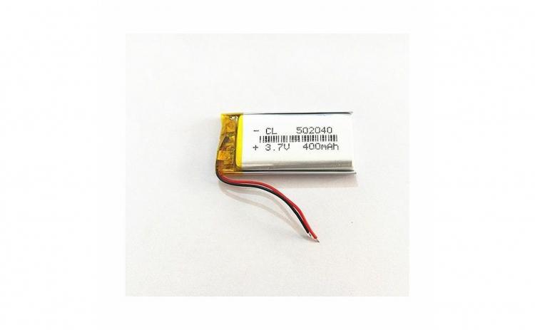 502040 - Acumulator Li-Po- 3,7 V -400mah