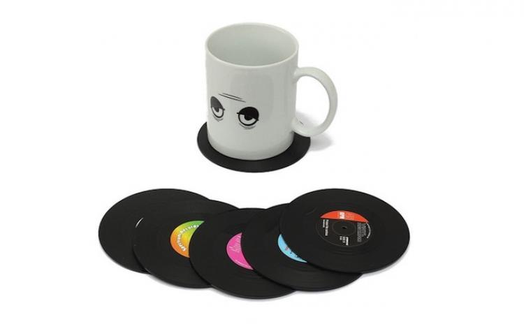 Set 6 Suporturi De Pahare In Forma Discurilor De V