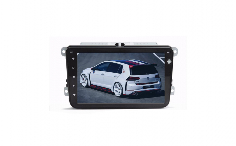 Navigatie Auto pentru VW (Volkswagen) cu ANDROID, ecran 8\', memorie interna 16GB, dualUSB, GPS, Bluetooth, WiFi