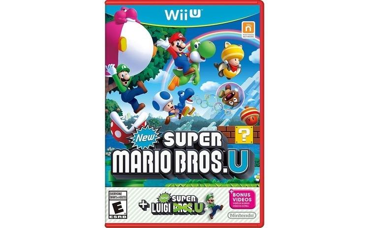 Joc New Super Mario Bros U Inc. New Super Luigi U Pentru Nintendo Wii-U