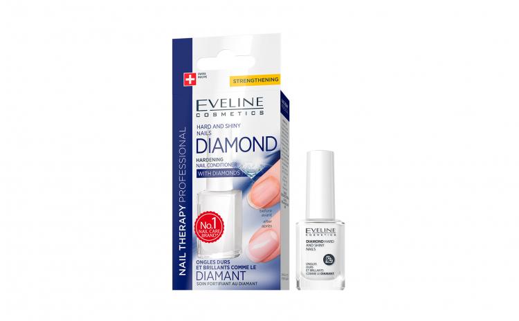 Diamond hard and shiny nails