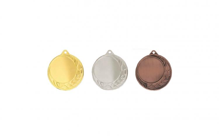 Medalii 3 bucati, 7 cm, Zamac