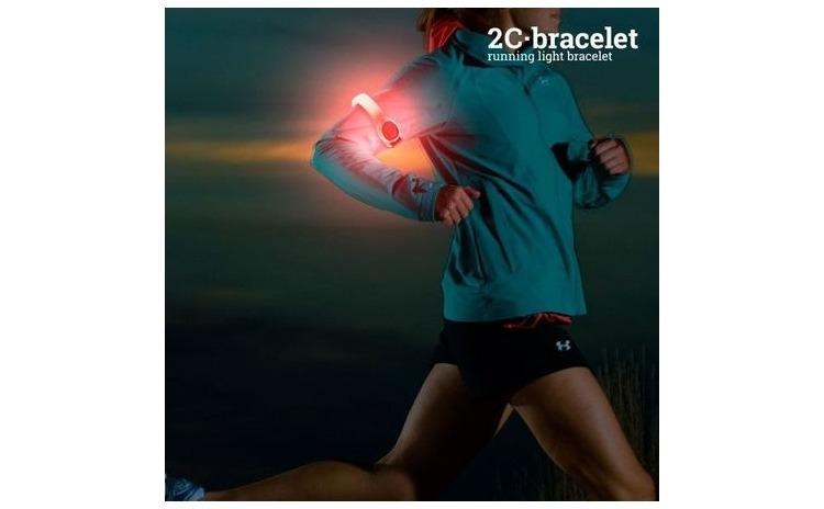 Bratara LED 2C pentru jogging
