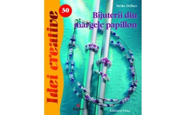 Bijuterii din margele papillon, autor Heike Delhez