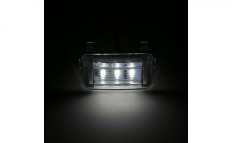 Lampi numar LED Peugeot 206,207,306,307