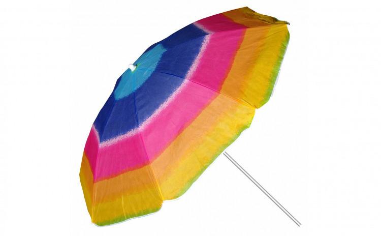 Umbrela plaja multicolora