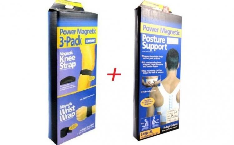 Benzi magnetice pentru durerile de spate