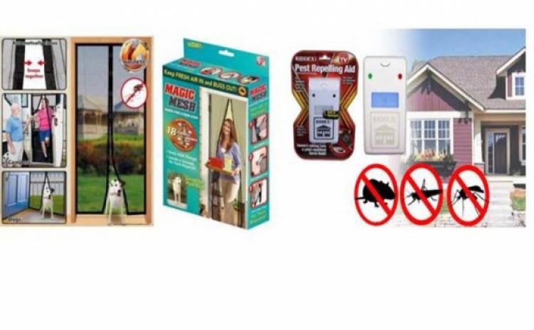 Aparat anti-insecte + Perdea