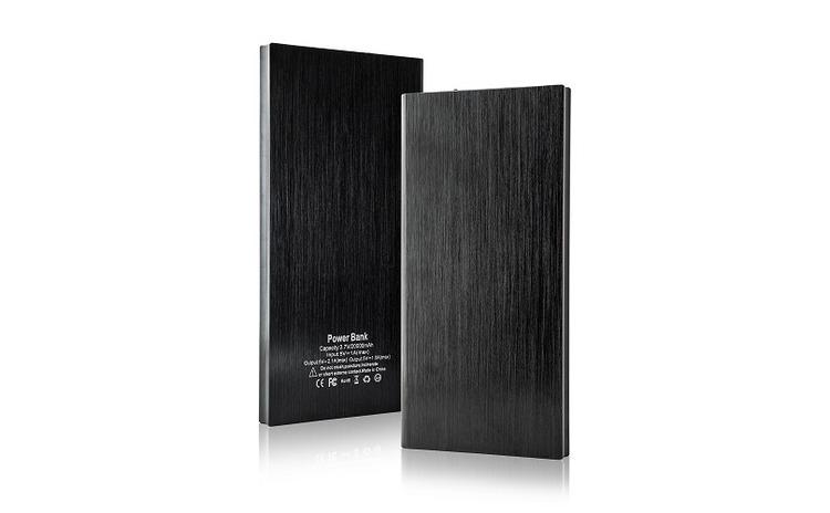 Imagine indisponibila pentru Baterie Externa 2xUSB 20.000 mAh-Power Bank Slim PB-025 Black