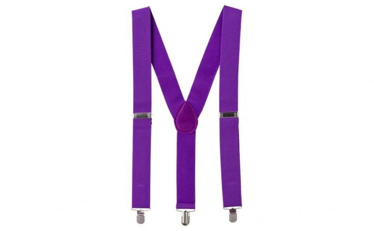 Bretele Suspenders violet,VIVO