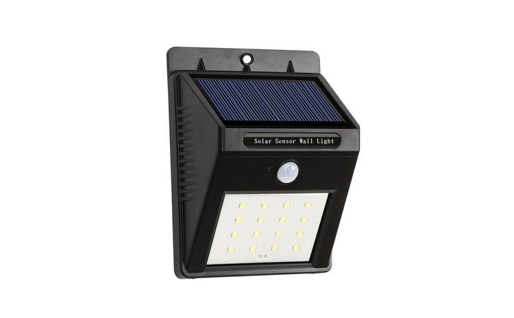 Lampa cu LED incarcare solara si senzor