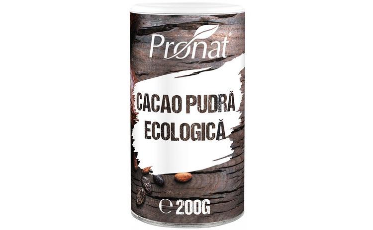 Cacao pudra BIO, 200 g