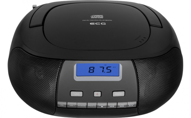 Radio CD Player ECG CDR 500 negru