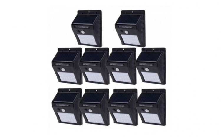 Set 10 Lampi Solare, portabile