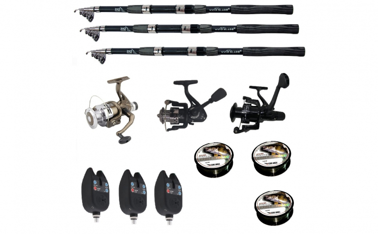 Set pescuit sportiv cu lanseta Wind Pro