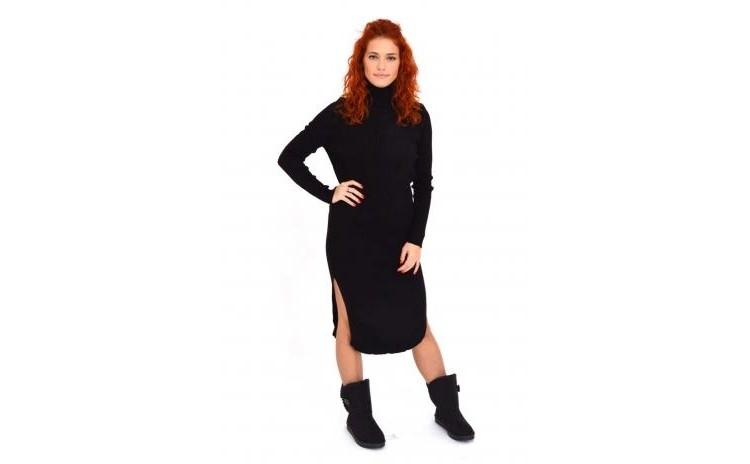 Rochie-pulover Neagra La Doar 125 Ron In Loc De 250 Ron