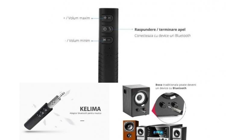 Adaptor Wireless Audio Handsfree