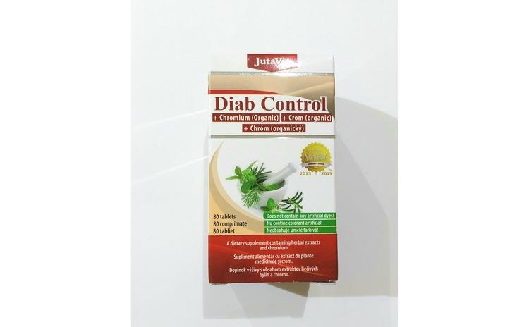 Tablete Diab Control Jutavit, 80 buc.