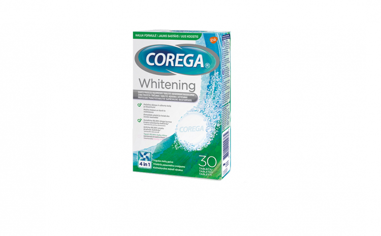 Tablete curatare proteza dentara Corega