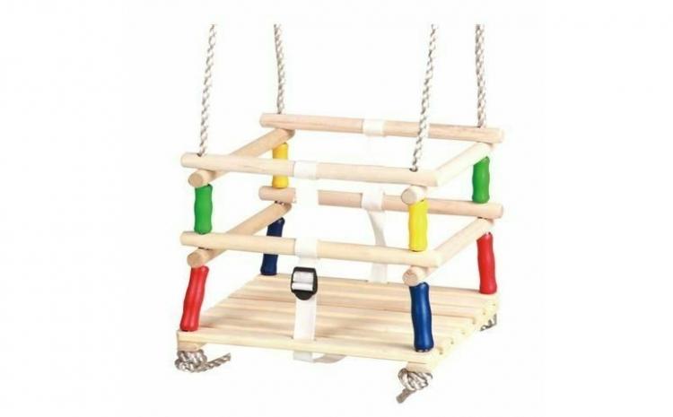 Leagan din lemn pentru copii, 3619