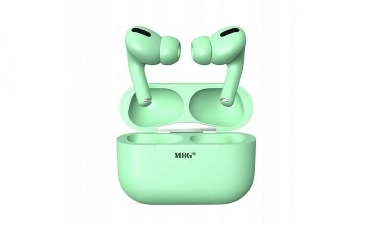 Casti Bluetooth MinPods3, verde