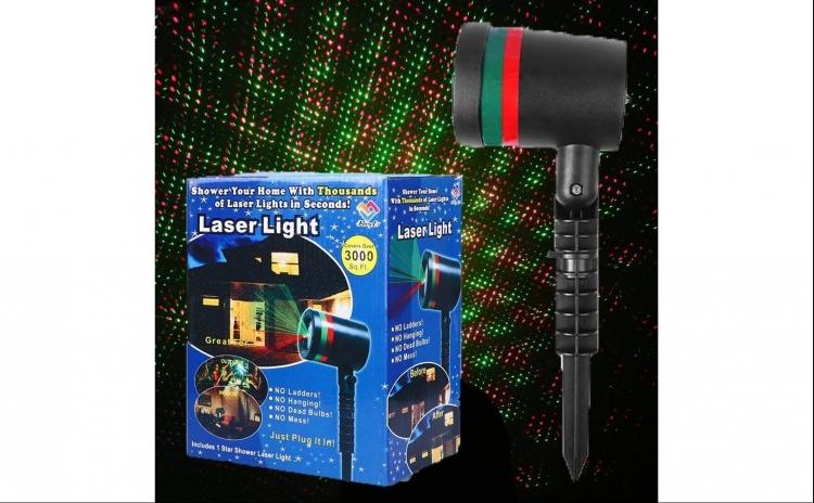 Proiector laser pentru exterior sau interior