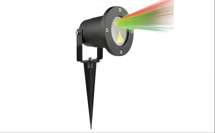 Proiector laser rosu-verde