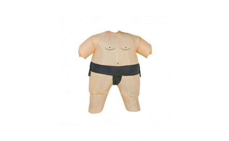 Costum gonflabil sumo, Gonga, crem