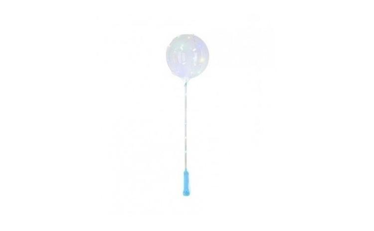 Balon LED multicolor, transparent