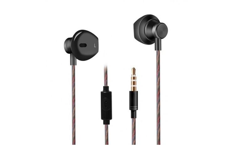 Casti audio Fineblue F-01 Microfon Negru