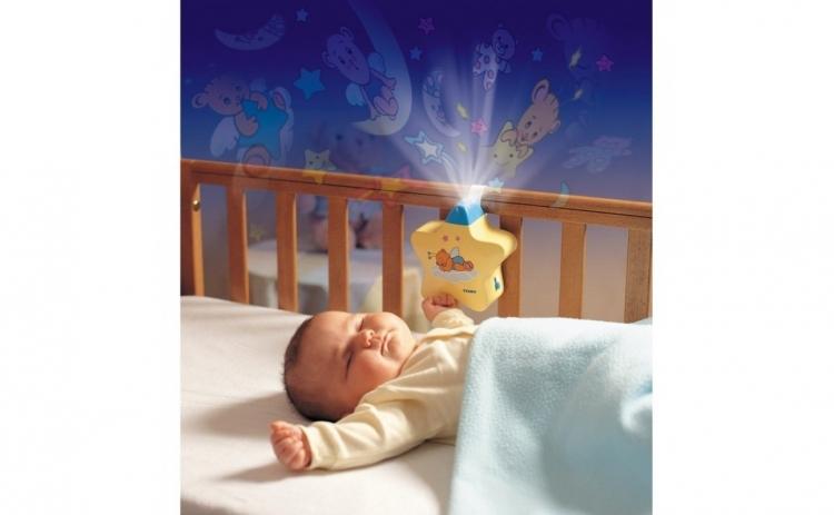Lampa de veghe bebe, Steluta Aurie