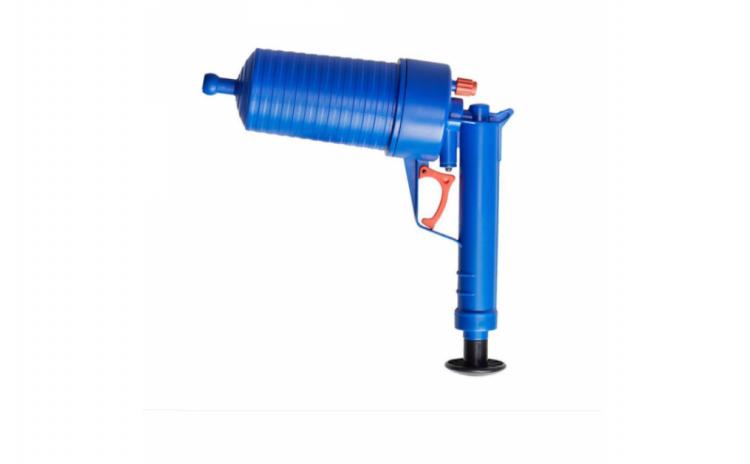 Pompa cu aer comprimat, pentru desfundat