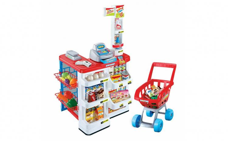 Set de joaca supermarket, 24 accesorii