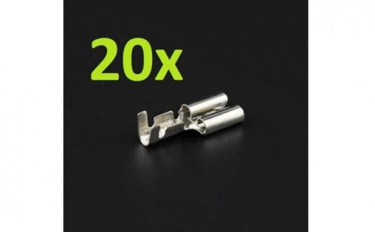 20 Buc X Papuc Mama Neizolat Plat 4.8 mm
