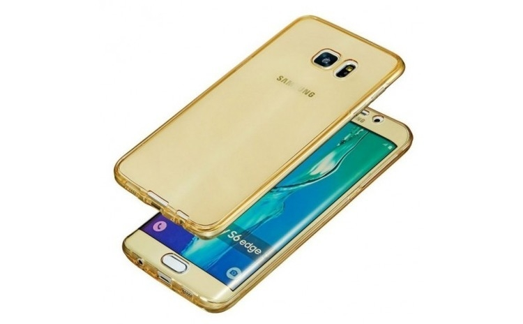 Husa Samsung S6 Flippy Full Tpu 360 Auriu