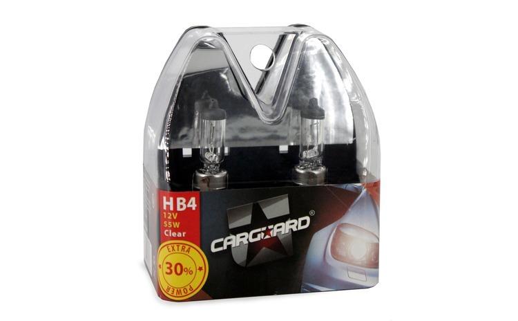 CARGUARD - Set de 2 becuri halogen 9006